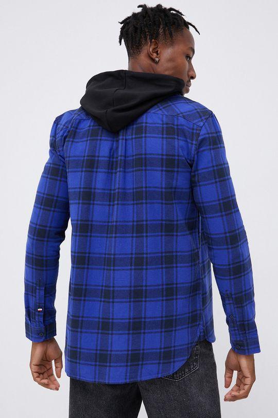 fioletowy Tommy Jeans - Koszula bawełniana