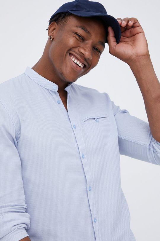 jasny niebieski Tom Tailor - Koszula bawełniana Męski