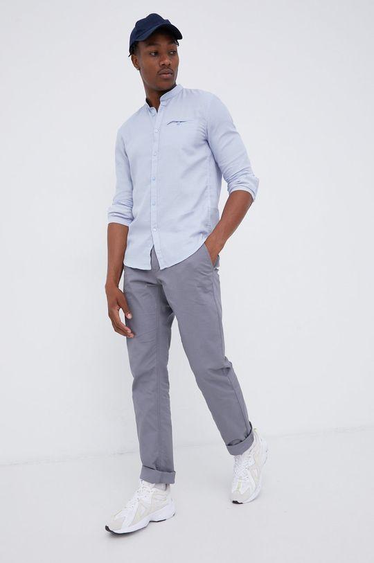 Tom Tailor - Koszula bawełniana jasny niebieski