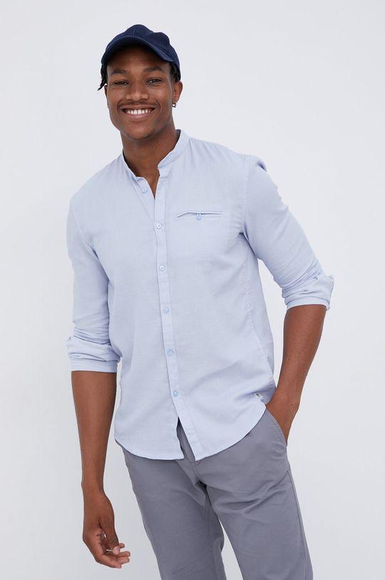 jasny niebieski Tom Tailor - Koszula bawełniana