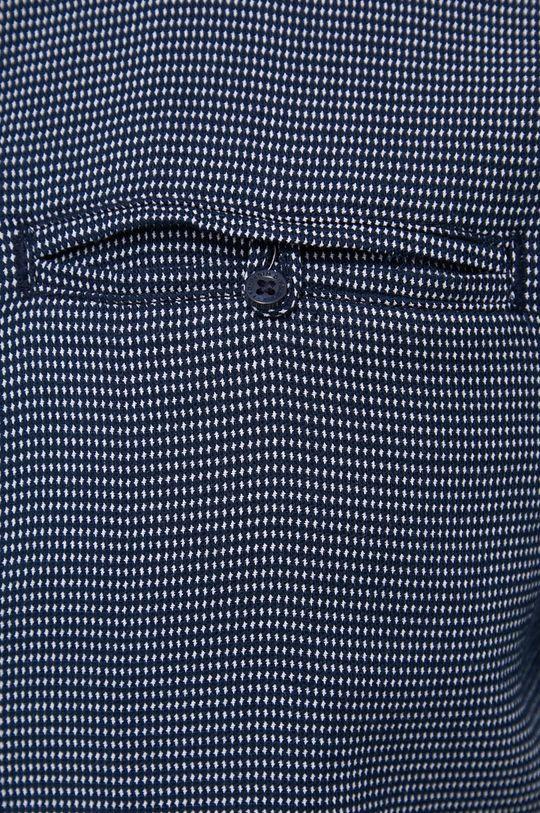 Tom Tailor - Koszula bawełniana granatowy
