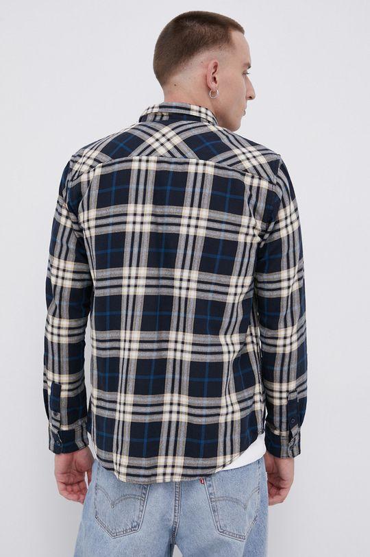 granatowy Tom Tailor - Koszula bawełniana