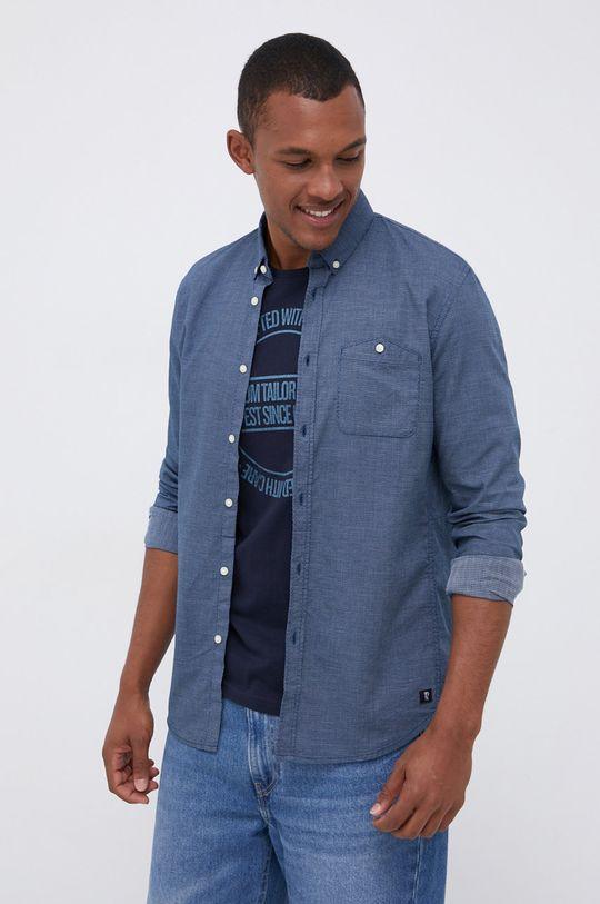 niebieski Tom Tailor - Koszula bawełniana Męski