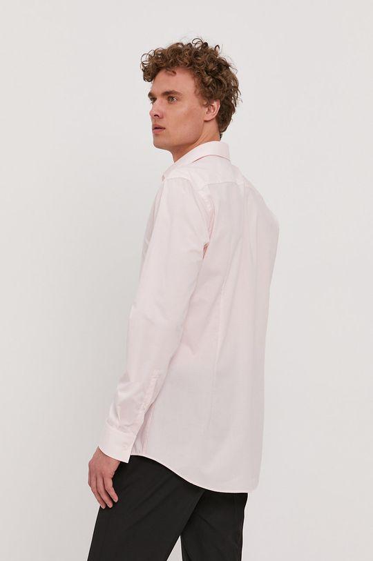 pastelowy różowy Hugo - Koszula bawełniana
