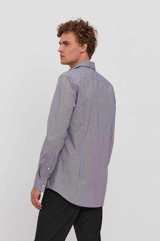 modrá Hugo - Bavlnená košeľa
