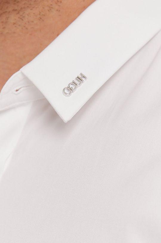Hugo - Koszula bawełniana biały