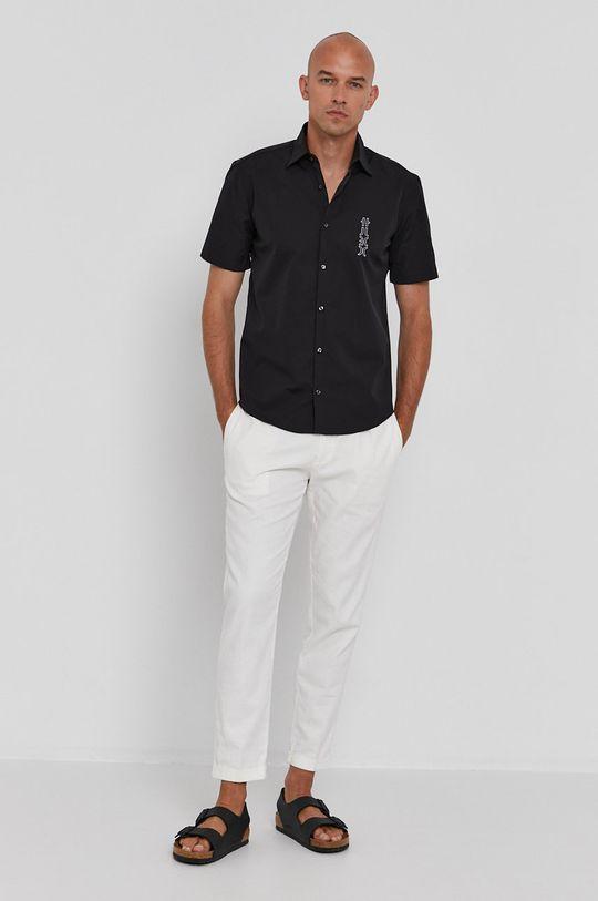 Hugo - Bavlnená košeľa  100% Bavlna