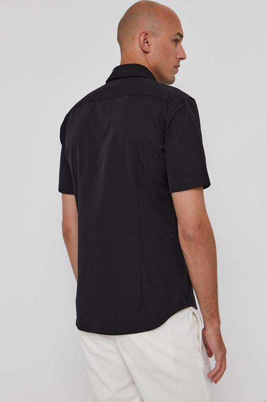 čierna Hugo - Bavlnená košeľa