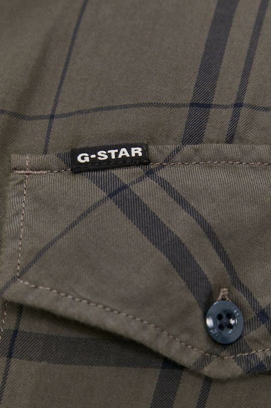 G-Star Raw - Bavlněné tričko zelená