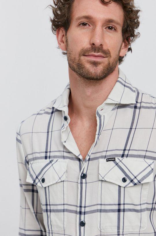 vícebarevná G-Star Raw - Bavlněné tričko Pánský
