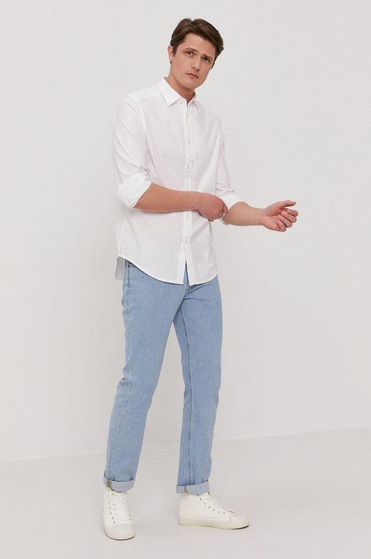 G-Star Raw - Bavlnená košeľa  100% Bavlna