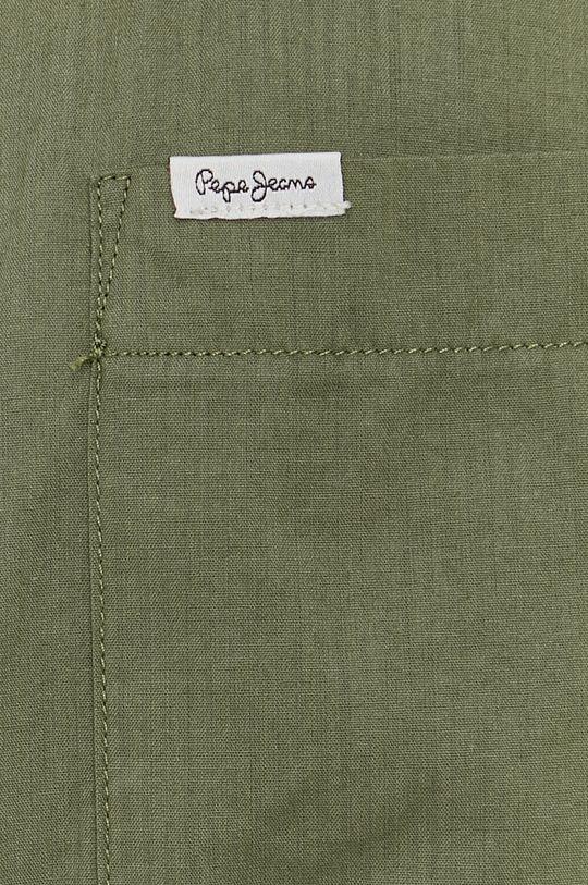Pepe Jeans - Bavlněné tričko KEVIN zelená