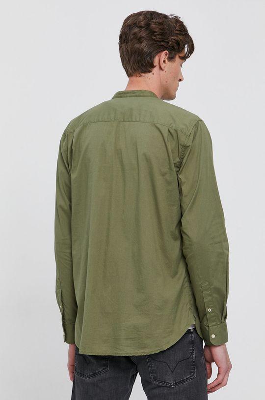zelená Pepe Jeans - Bavlněné tričko KEVIN