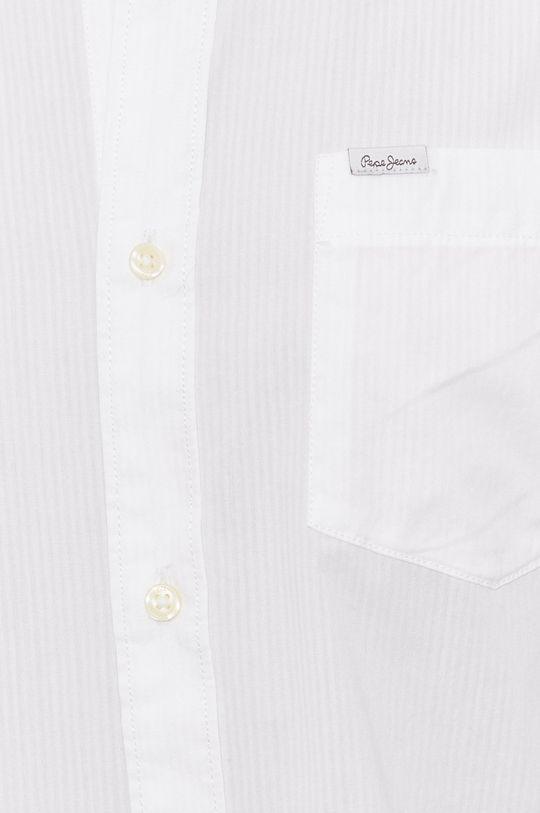 Pepe Jeans - Bavlněné tričko KEVIN bílá