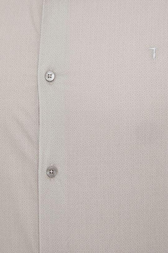 Trussardi - Koszula bawełniana blady zielony
