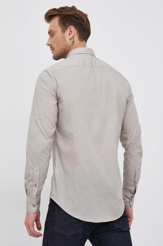blady zielony Trussardi - Koszula bawełniana