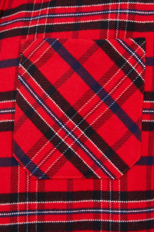 Hugo - Koszula bawełniana czerwony