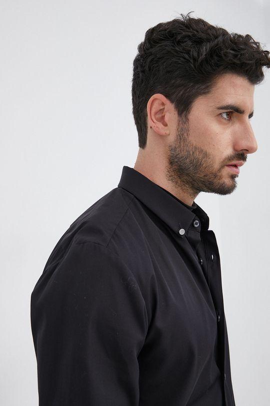 czarny Hugo - Koszula bawełniana