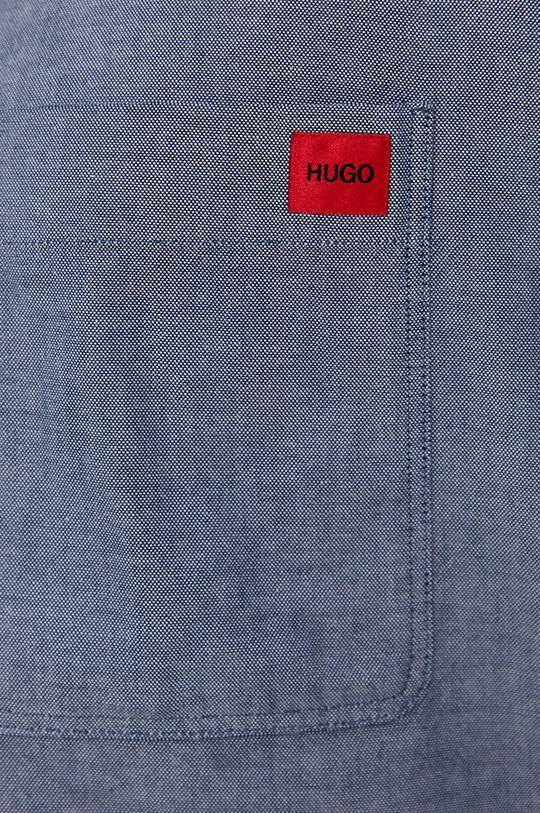 Hugo - Camasa din bumbac albastru