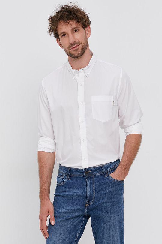 biały Guess - Koszula bawełniana