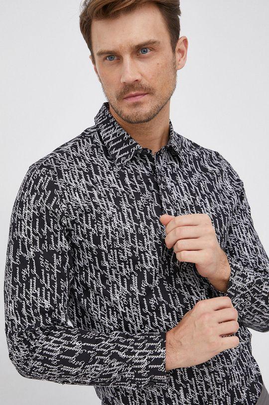 černá Guess - Košile Pánský