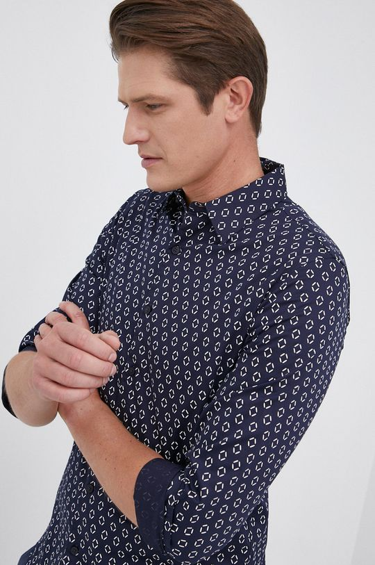 granatowy Guess - Koszula Męski