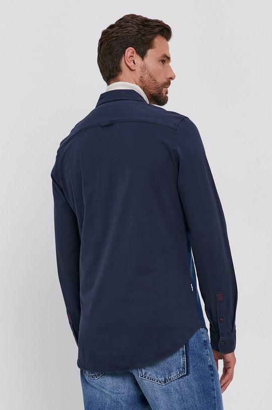 niebieski Desigual - Koszula bawełniana