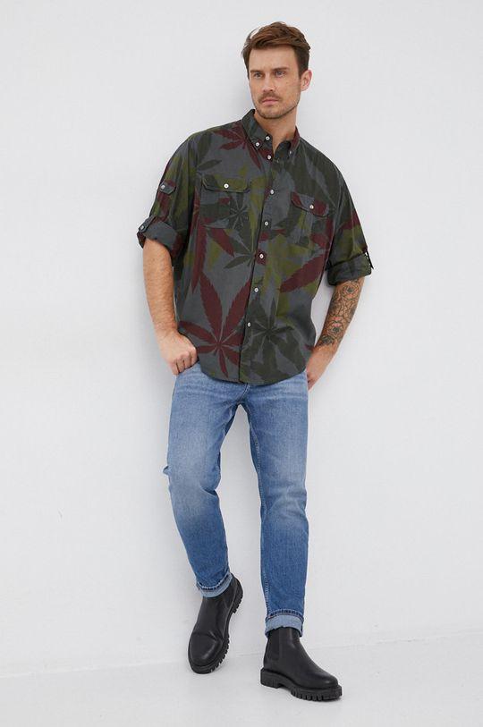 Desigual - Bavlněná košile  100% Bavlna Pokyny k praní a údržbě:  neprat chemicky, prát v pračce při teplotě 30 stupňů, nebělit, žehlit na nízkou teplotu