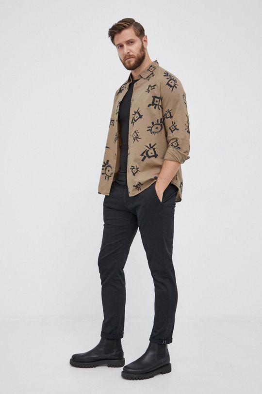 Desigual - Koszula bawełniana 100 % Bawełna