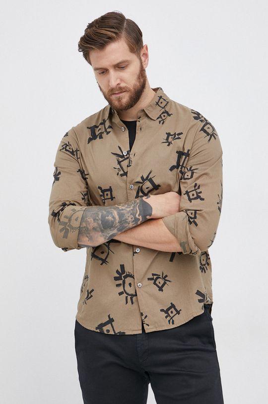 Desigual - Koszula bawełniana Męski