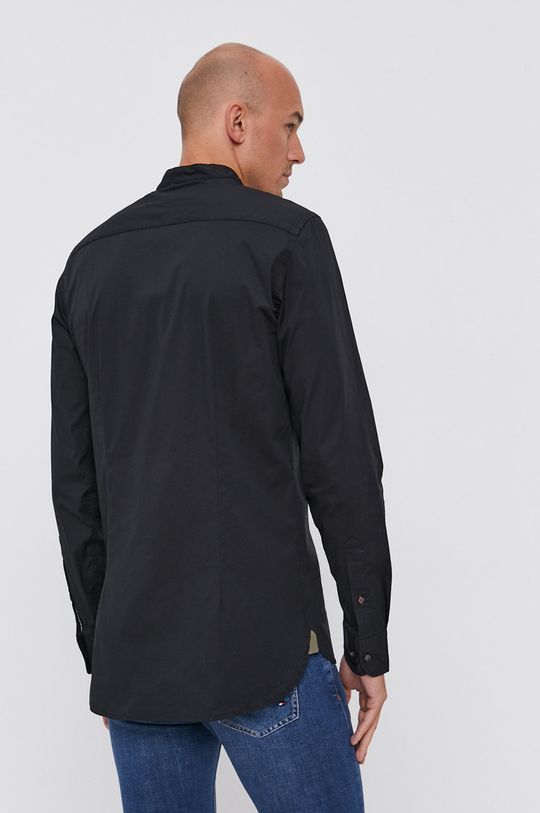 czarny Tommy Hilfiger - Koszula