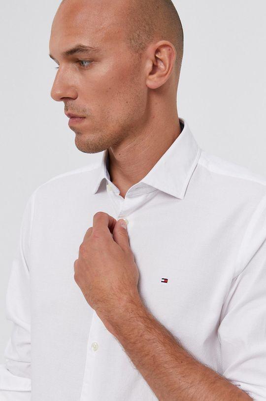 biały Tommy Hilfiger - Koszula Męski
