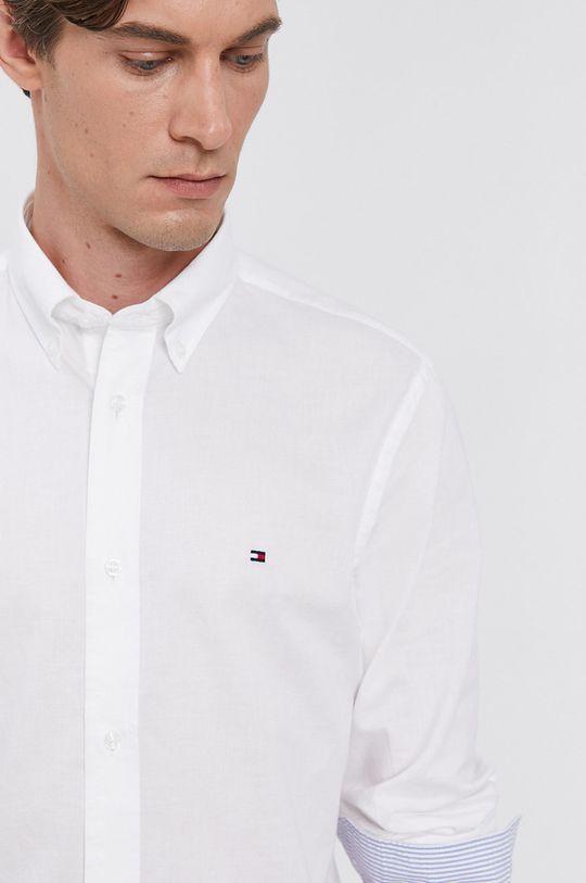 bílá Tommy Hilfiger - Bavlněná košile