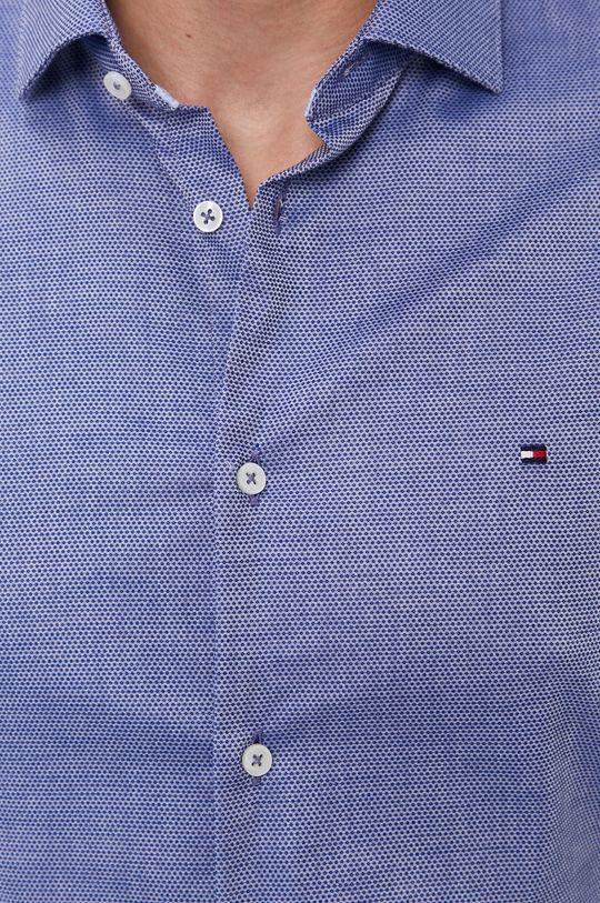 Tommy Hilfiger - Koszula bawełniana granatowy