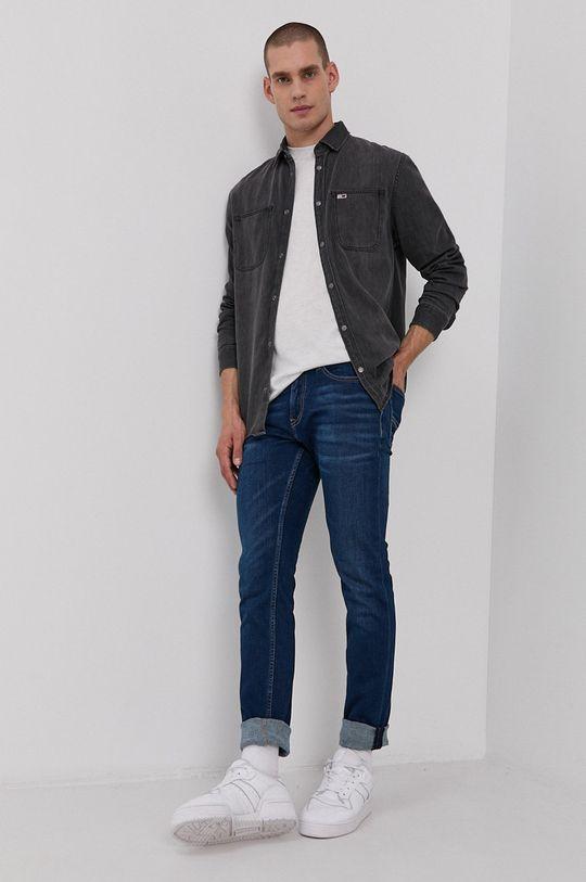 Tommy Jeans - Koszula jeansowa Bawełna