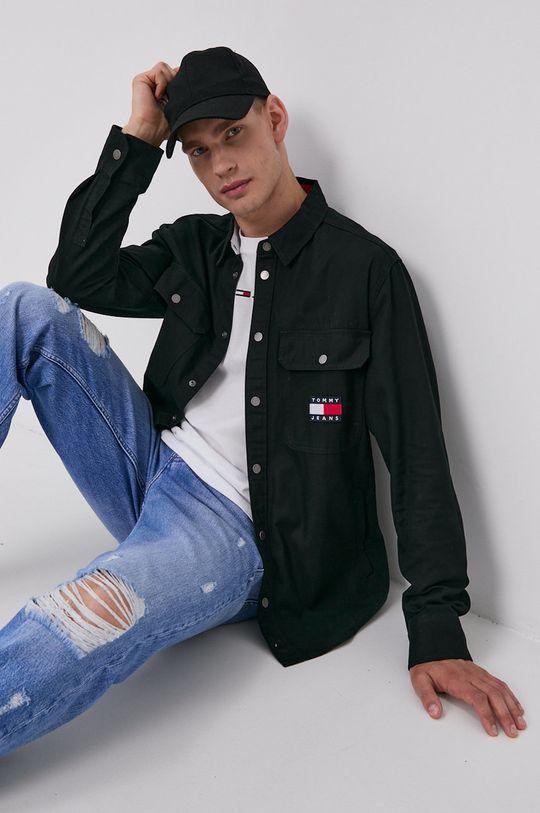 Tommy Jeans - Bavlněná košile  100% Bavlna