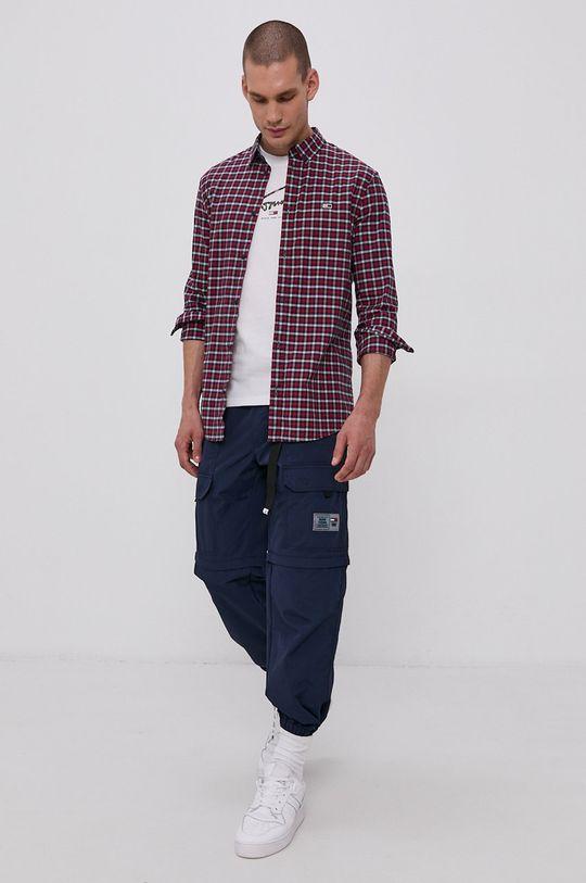 Tommy Jeans - Koszula czerwony