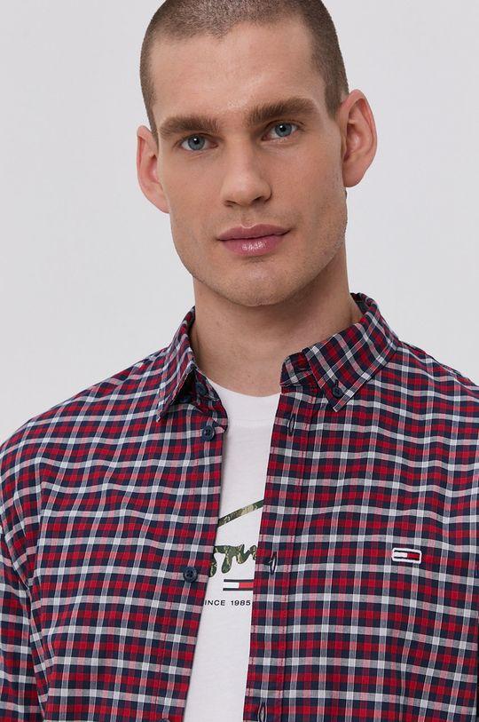 czerwony Tommy Jeans - Koszula