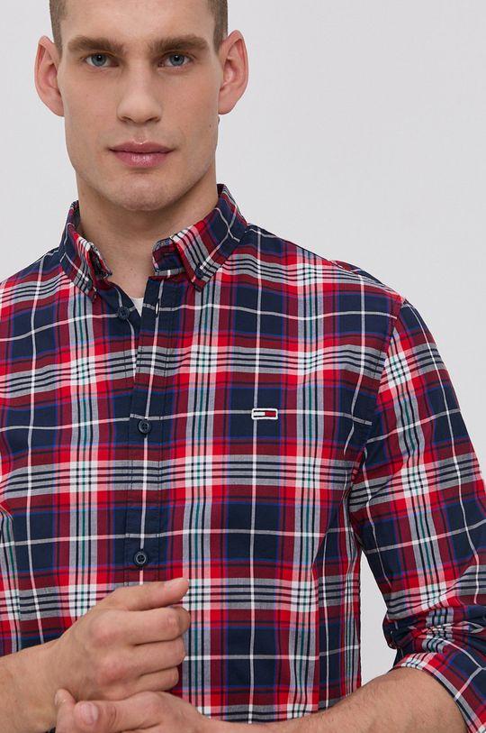 námořnická modř Tommy Jeans - Košile Pánský