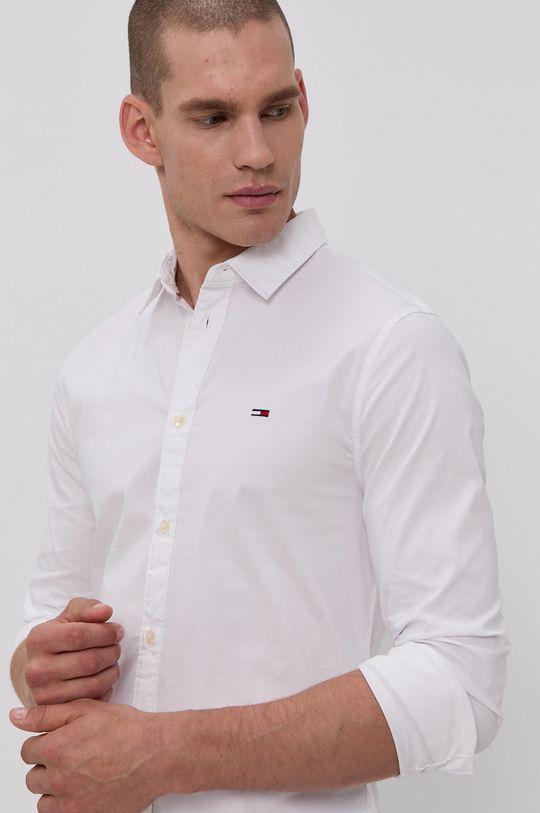 bílá Tommy Jeans - Košile Pánský