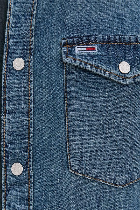 Tommy Jeans - Koszula bawełniana jeansowa Męski