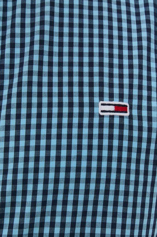 Tommy Jeans - Bavlněné tričko námořnická modř