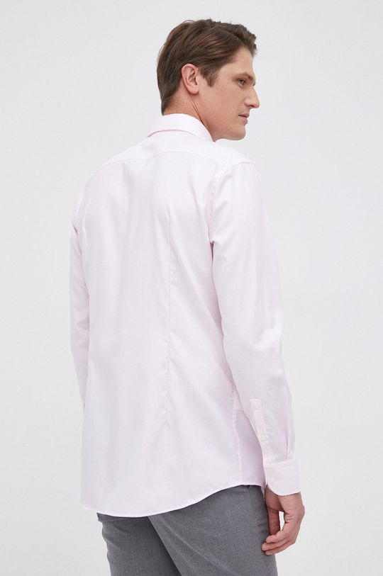 pastelowy różowy Boss - Koszula bawełniana
