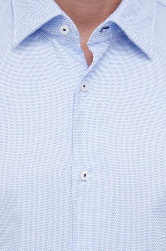 Boss - Koszula bawełniana blady niebieski