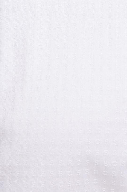 Boss - Koszula bawełniana biały
