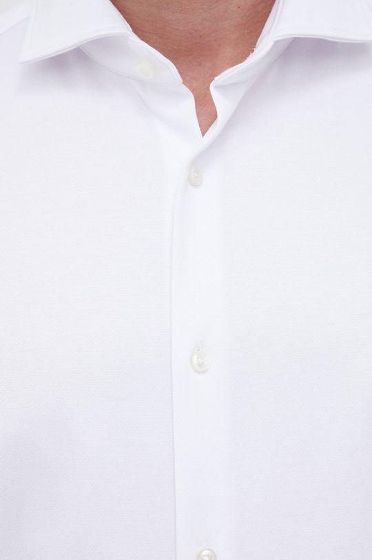 Boss - Koszula biały