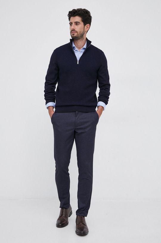 Boss - Koszula 61 % Bawełna, 39 % Poliester
