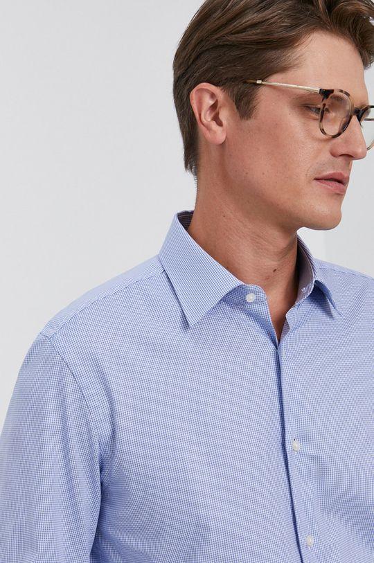 jasny niebieski Boss - Koszula bawełniana Męski