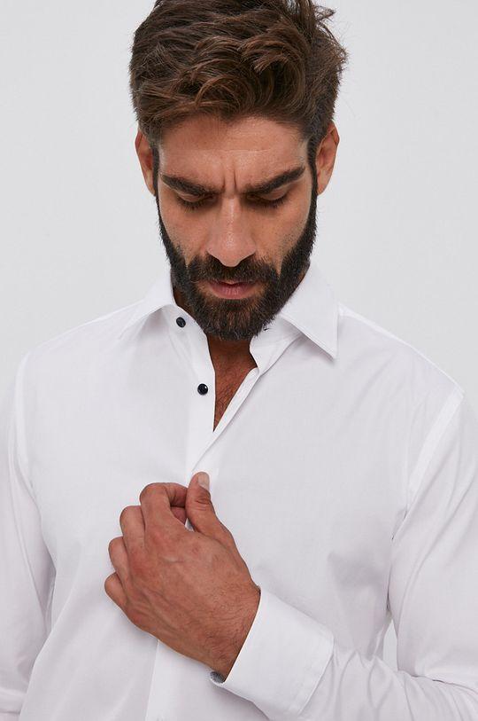 biały Boss - Koszula Męski