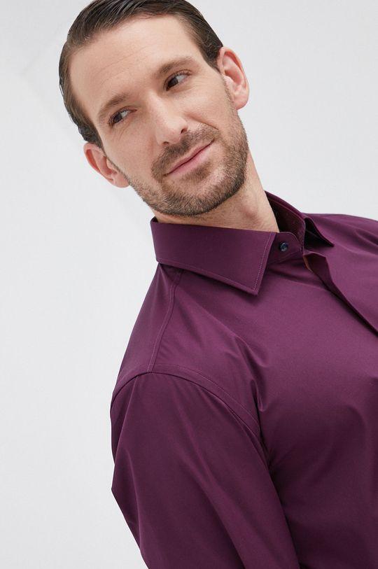 ciemny fioletowy Boss - Koszula Męski